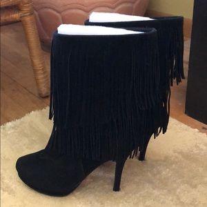 Shoes - 🌸Fringe bootie🌸
